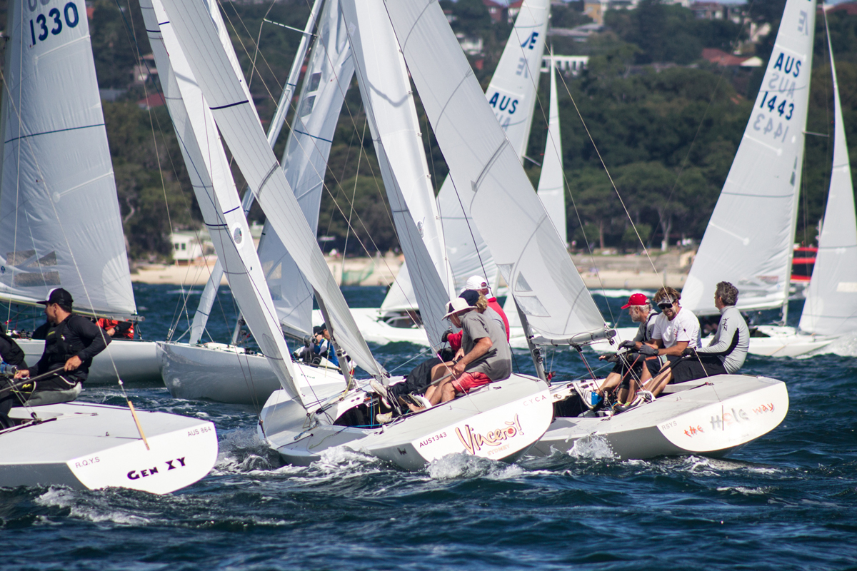 2018 Etchells NSW States kicks off on Sydney Harbour