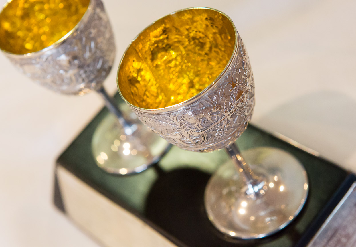 Milson Silver Goblets, the gorgeous trophy