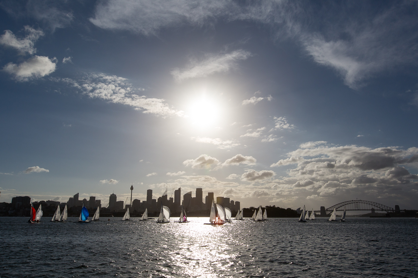 Best twilight race location in the World! 2015 Milson Silver Goblets